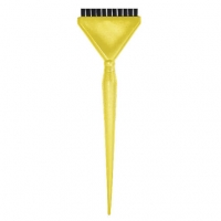 Кисть для кератина жёлтая