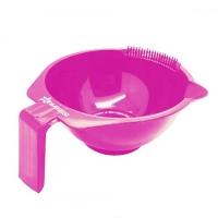 Миска Mega розовая пластиковая