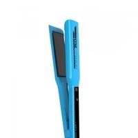 Утюжок MZ Titanium Голубой широкие пластины